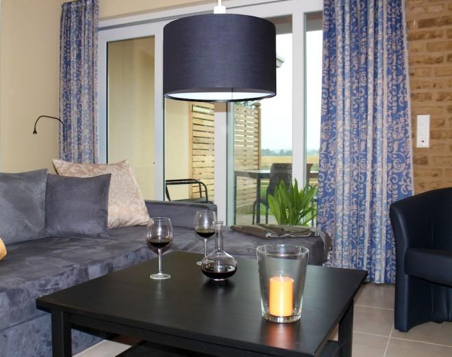 Shattal Wohnzimmer mit 3D Fernseher